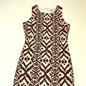 Belle Badgely Mischka dress black & white